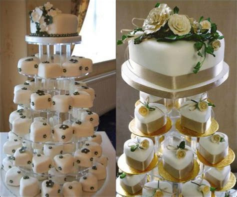 7 Perfectly Delicious Sweet Heart Shaped Wedding Cakes For