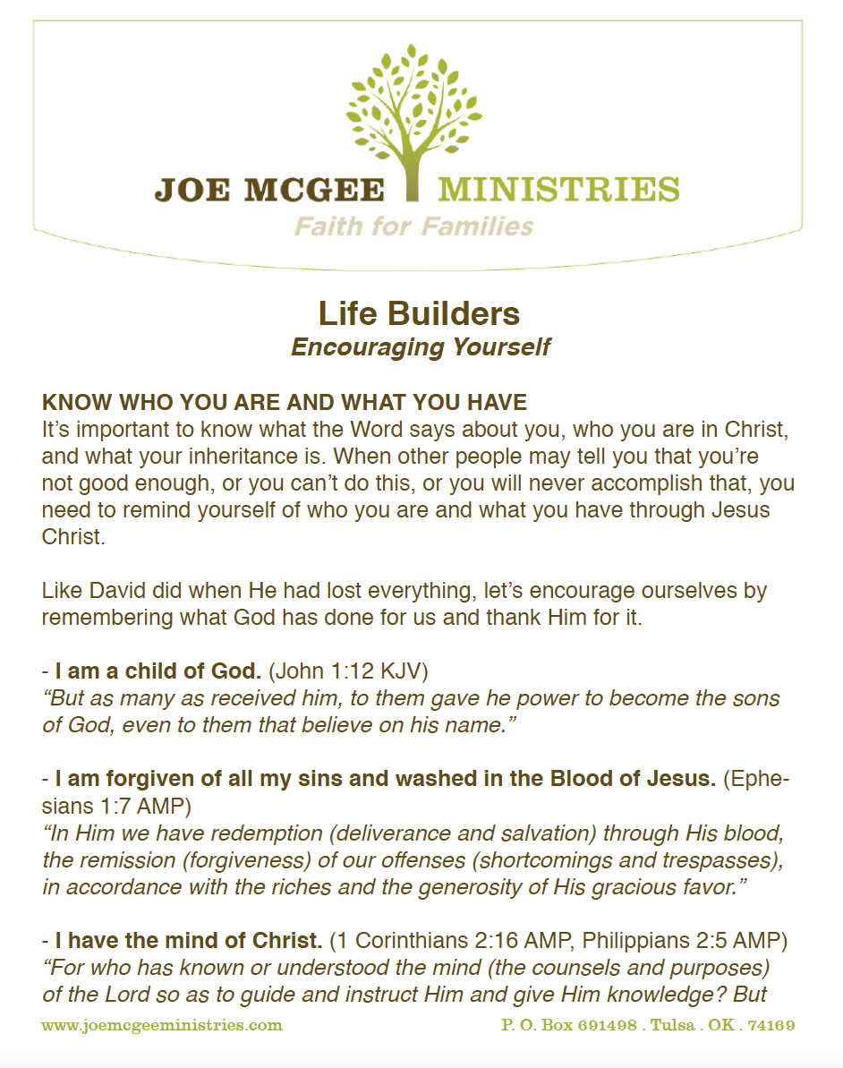 Build Something Great In 2016 Joe Mcgee Ministries