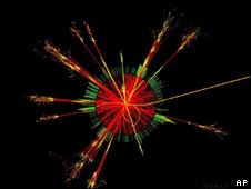 Colisión de dos protones