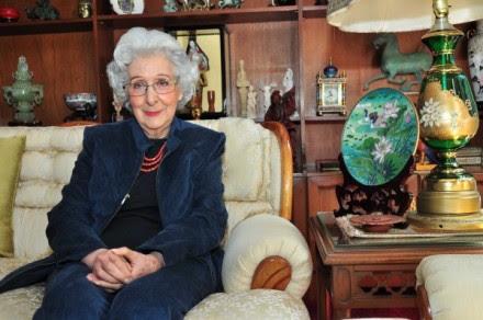 Beatriz Barba Ahuactzin, la primera arqueóloga mexicana titulada. Foto: INAH