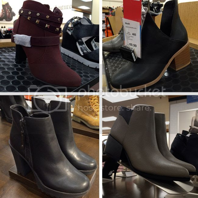 Kohls Fall 2015 ankle boots