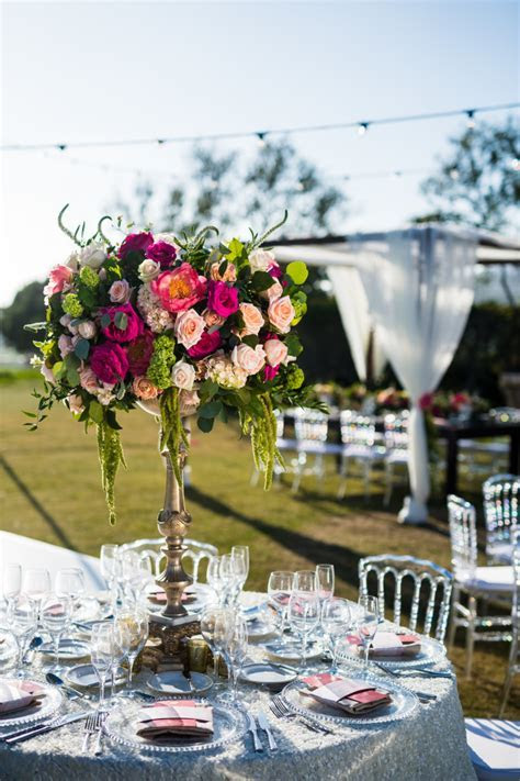 Lush Coral & Blush Styled Wedding Reception at the Monarch