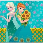 Lata de Leite Frozen Fever Cute