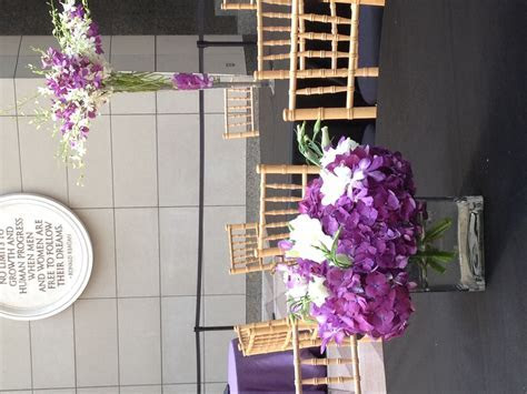 Purple Design at the Ronald Reagan Building   Elegance