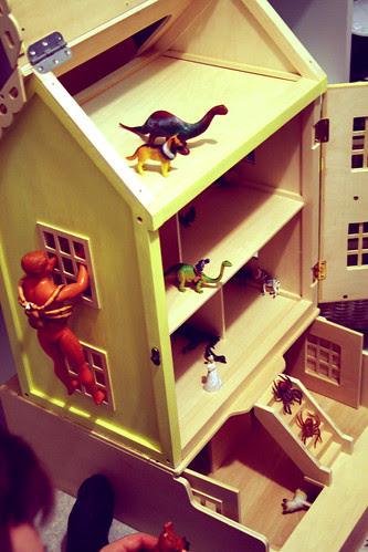 Dollhouse fantasy play