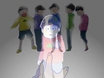 手描きおそ松さん24話のやつ By mkm 描いてみた動画 ニコニコ動画
