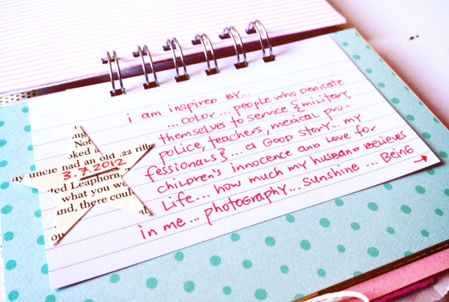 I Am Inspired By | 30 Days of Lists | March 2012