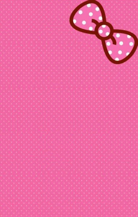 lihat pink kitty background wallpapersafari pinterest