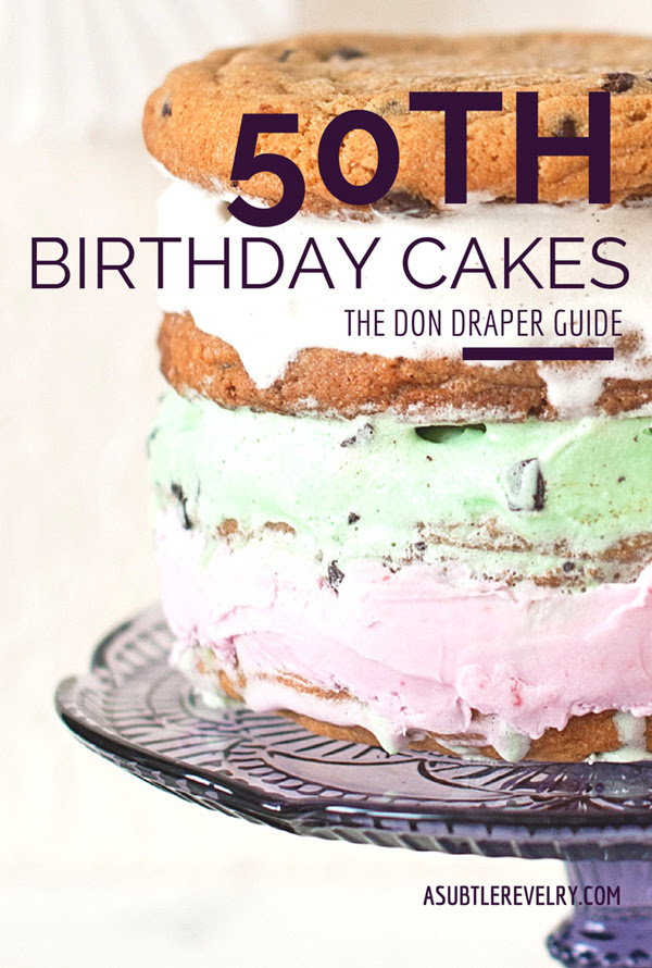 Homemade Birthday 50th Cake