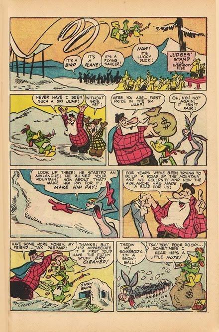 Lucky Duck Irv Spector comic book scans 09