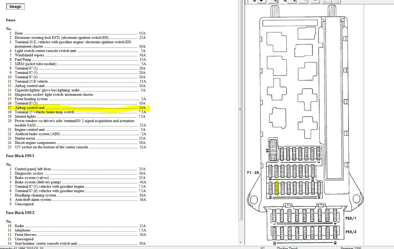 2008 Dodge Sprinter Fuse Box Diagram Truck Starter Wiring Diagram For Wiring Diagram Schematics