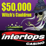 Intertops Casino Giving Away 50K in Witchs Cauldron Halloween Casino Bonuses
