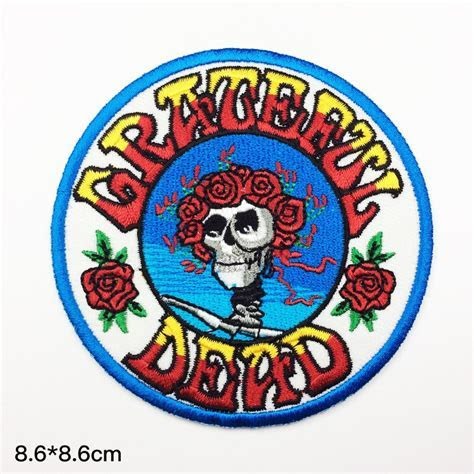 band patches Grateful Dead Embroidery classic rock patch