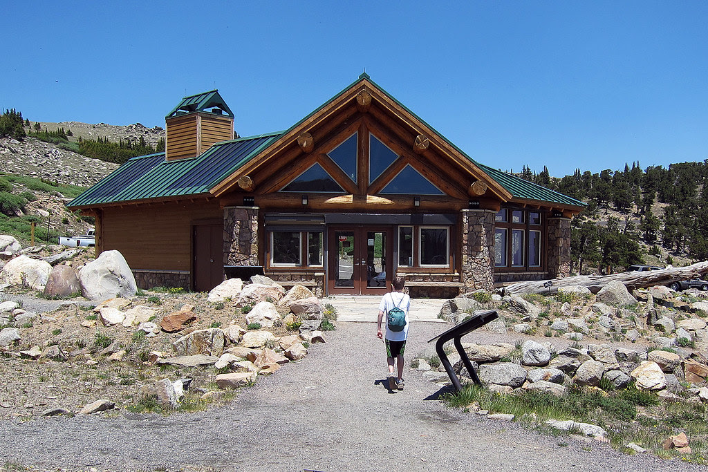Nature Center at trail