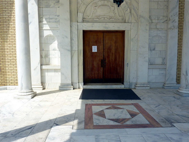 P1080705-2012-05-20-St-John-Chrysostom-Melkite-Church-Atlanta-portico-floor-door