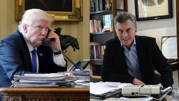Mauricio Macri hablará hoy por teléfono con Donald Trump