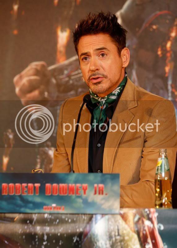 Iron Man 3 photo: Robert Downey Jr. in Munich promoting