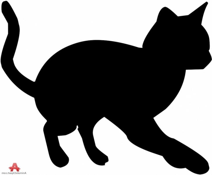 Download Cat Silhouette Clipart at GetDrawings | Free download
