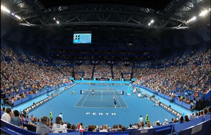 Resultado de imagen de perth arena tenis