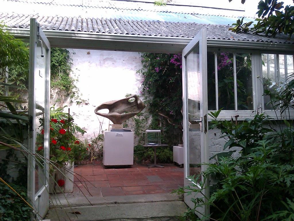 Barbara hepworth garden, St. Ives