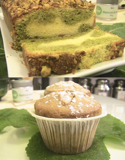 Cake al Tè Matcha