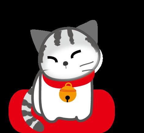 ねこのイラスト猫ネコ無料イラストフリー素材2