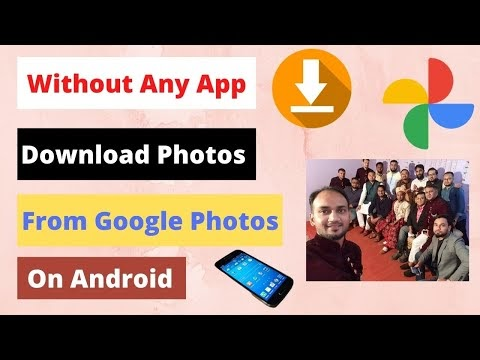How to Download Photos From Google Photos on Android