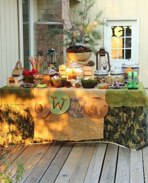Backyard party ideas for boys