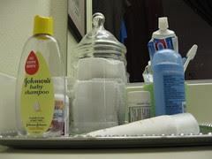 Glass Jar with Reusable Makeup Remover Pads