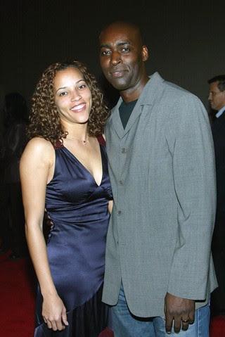April Jace e Michael Jace em 2004 (Foto: Agência/ Getty Images)