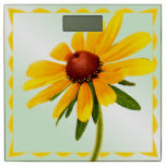 Nature Photography Summer Black-eyed Susan Bathroom Scale