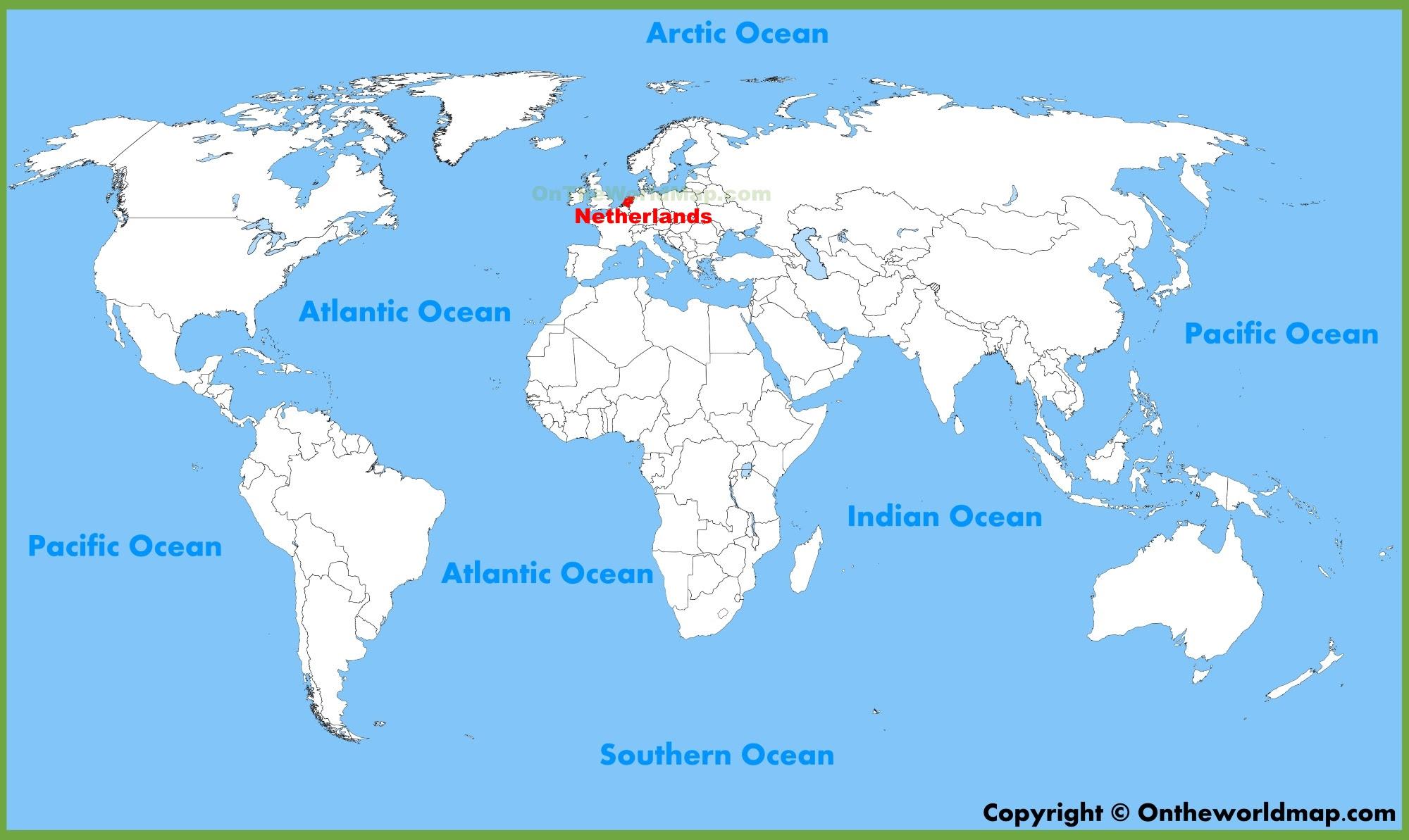 Netherlands World Map