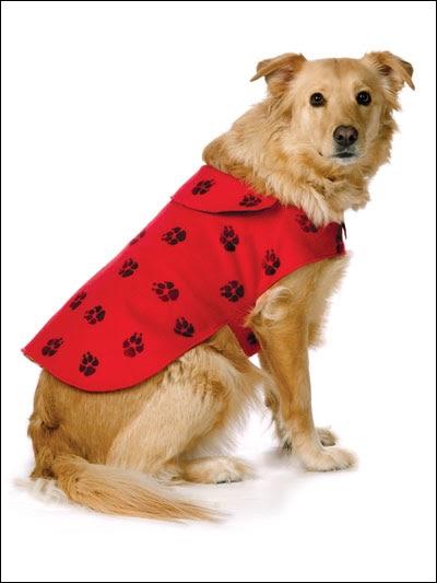 Fleece Dog Coat Sewing Pattern