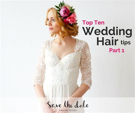 Listen to Jen share her best wedding hair tips on this