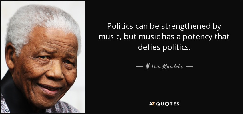 Nelson Mandela quote: Politics can be strengthened by