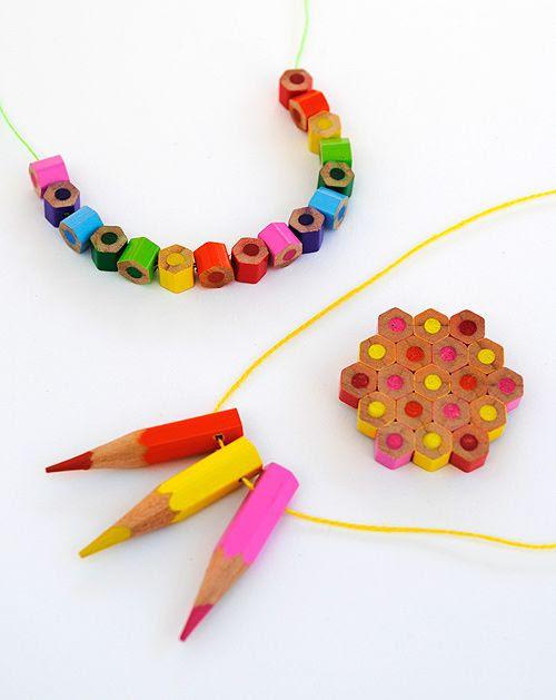 DIY: Colored Pencil Jewelry