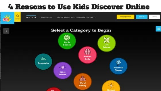 4 Reasons to Use Kids Discover Online