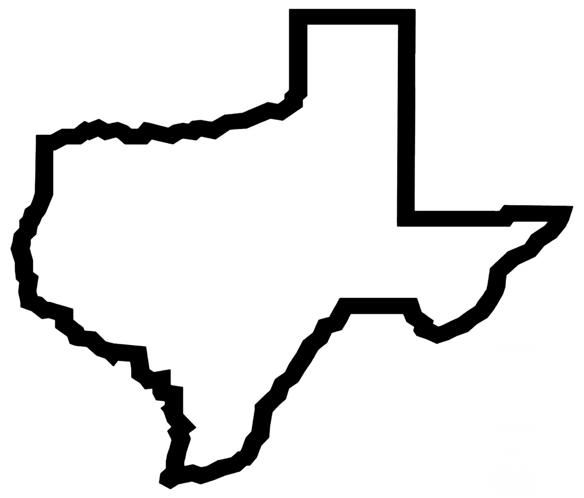 State Of Texas Outline, Exclusive State Of Texas Vector Graphics Design Vectorealy Clip Art, State Of Texas Outline