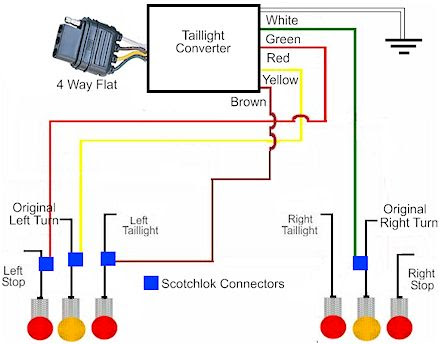 trailer wiring harness diagram img schematic. Black Bedroom Furniture Sets. Home Design Ideas