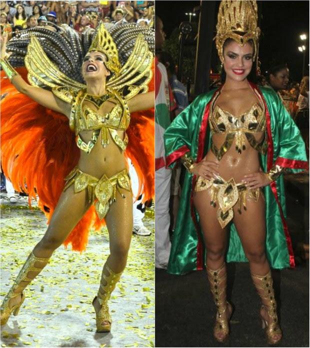 Paloma Bernardi está na contagem regressiva para o carnaval 2016: Ainda não sei em que posto vou desfilar, se será no chão ou como destaque. Mas meu orgulho de estar atravessando a Avenida pela Grande Rio será o mesmo (Foto: Ag. News)