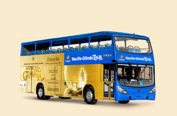 Projeto contará com 24 paradas nas principais atrações das duas cidades. Bilhete válido por 24 horas custará R$ 45. Foto: Divulgação