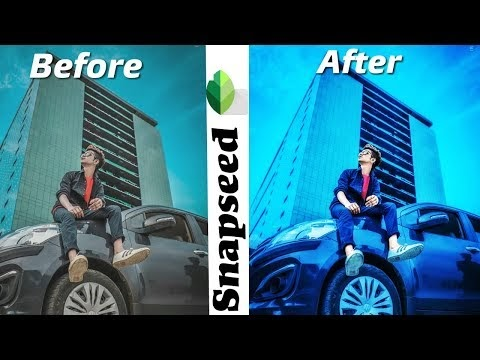 Awesome Snapseed Picture Editing On Android | Snapseed Photo color Effect Editing