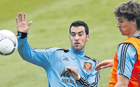 Busquets is a key player in the Spanish Vicente del Bosque