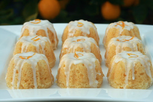 Glazed Meyer Lemon Cake