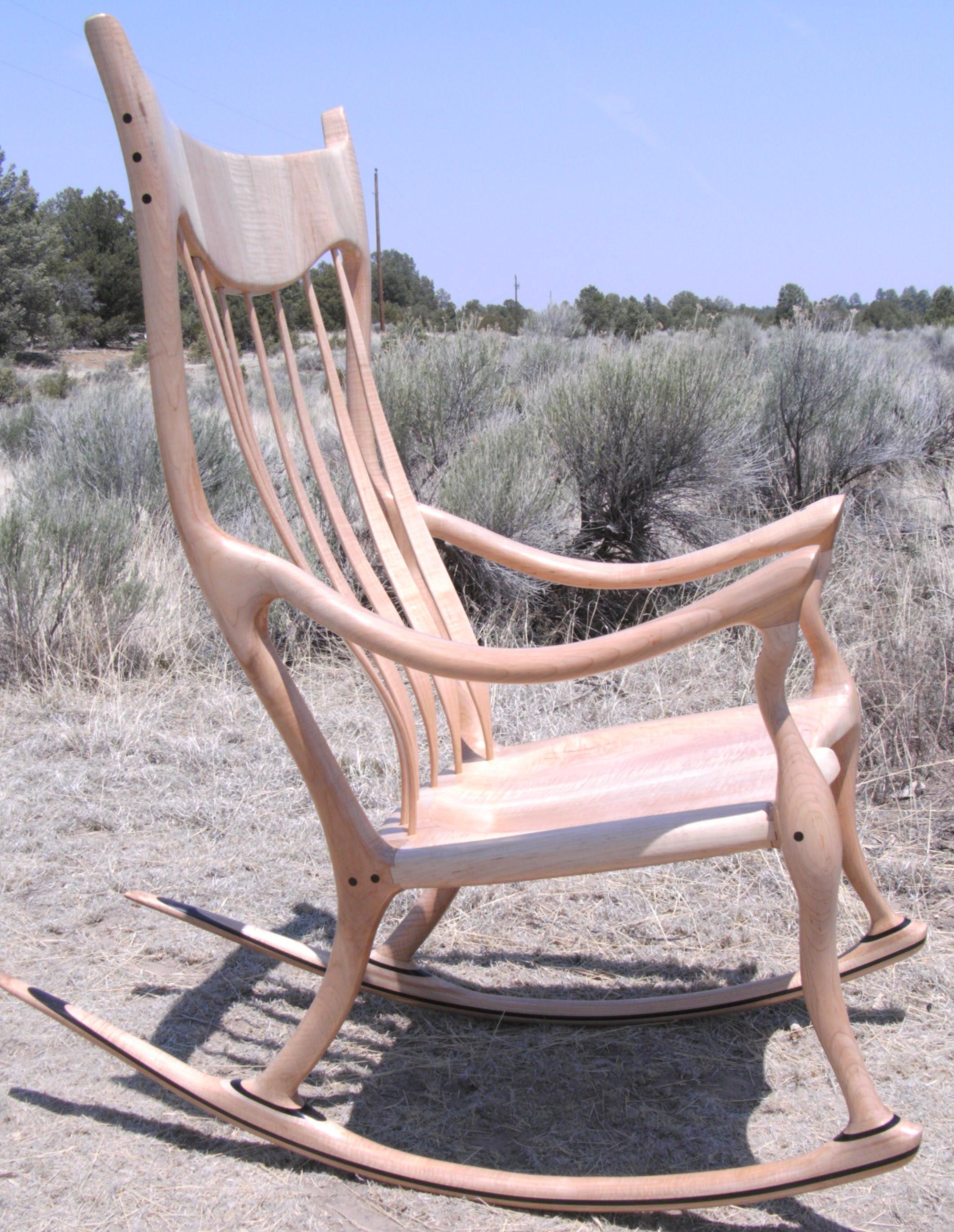 Sam maloof rocking chair plan | Wood plan