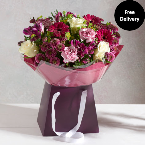 Flower Gift Bags Gift Bag Bouquets Next Flowers Uk