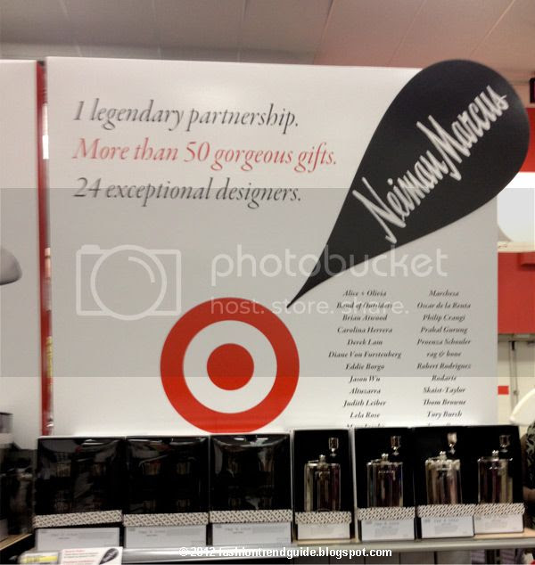Target Neiman Marcus holiday 24 designer collection