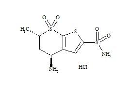 Dorzolamide Impurity D HCl (N-Desethyl Dorzolamide HCl)