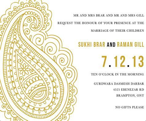 10 Awesome Indian Wedding Invitation Templates You Will Love