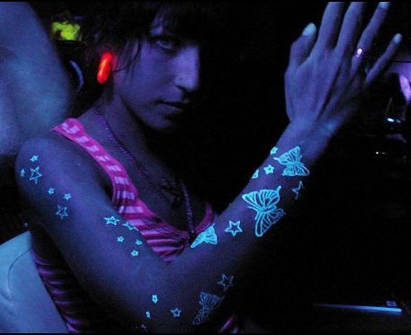 Ultraviolet tattooedfrgfg